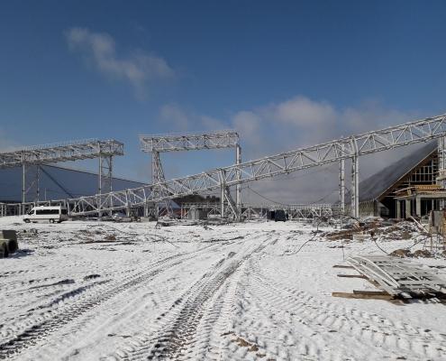Главная. ГИДРОИЗОЛСТРОЙ - завод металлоконструкций в Минске