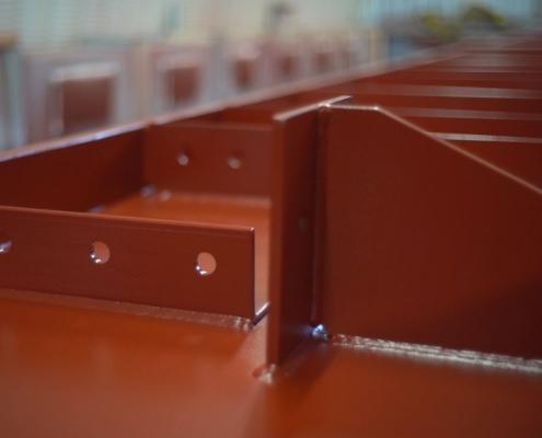 Автоматическая линия окраски NORDSON ColorMax3. ГИДРОИЗОЛСТРОЙ - завод металлоконструкций в Минске